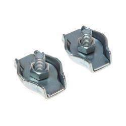 2 x Seilklemme Simplexklemme 6 mm Drahtklemme Drahtseilklemme Einfachseil Klemme,Vagner SDH,000050704822, 2000507048220
