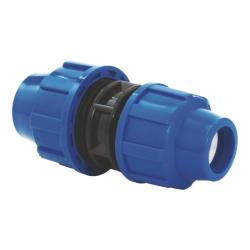 PP Rohr Verschraubung Blau PN16 Klemmfitting DVGW, Kupplung reduziert 32 x 25,Diverse,02061030, 5996361009835