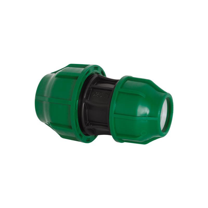PP Rohr Verschraubung Grün PN10 Klemmfitting, Kupplung reduziert 25 x 20,Diverse,03040011, 5996361986600