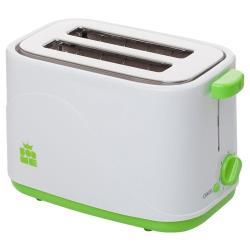 ForMe 700W Toaster Farbe weiß/grün Zweischlitztoaster