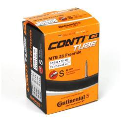 26 Zoll Continental MTB Freeride Schlauch Presta Ventil Fahrradschlauch