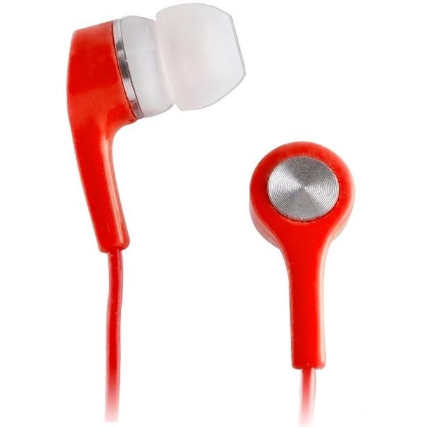 In-Ear Kopfhörer Ohrhörer Universal X-Bass In Ear Earphones Headphones Rot,Setty,5900495487124, 5900495487124