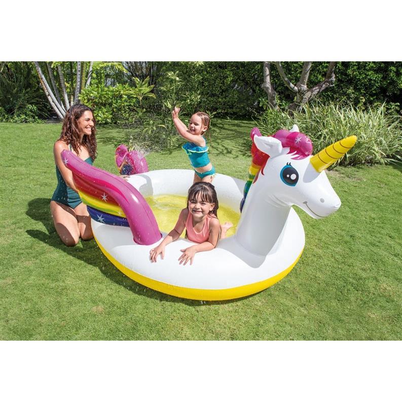 Kinderpool Kinderplanschbecken Planschbecken Einhorn Swimmingpool Schwimmbecken ,Intex,000051349985, 6941057407685