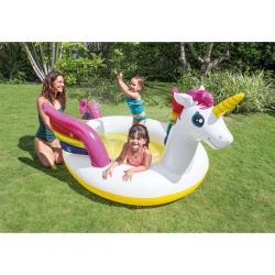 Kinderpool Kinderplanschbecken Planschbecken Einhorn Swimmingpool Schwimmbecken