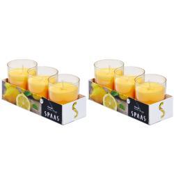2 x Citronella Duftlichter Anti Mücken Kerzen Teelichter Outdoor Mückenabwehr