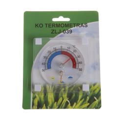 Fensterthermometer Thermometer selbstklebend Aussenthermometer Luftfeuchtigkeit