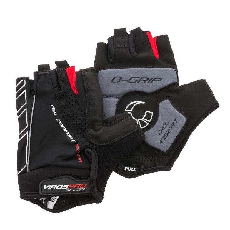 Fahrradhandschuhe M Mountainbike Handschuhe mit Gelpolsterung Sommer Fahrrad GEL,Viros Pro Sports,5003M, 4770364256998