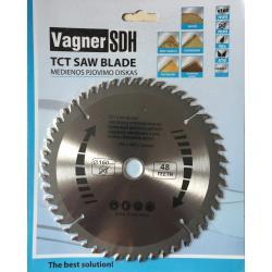 Sägeblatt 160 mm Kreissägeblatt für Holz 48 Zähne  Innen Ø 16 - 20 mm,Vagner SDH,000051005041, 6941125230221