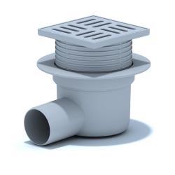 Bodenablauf Duschablauf Bad Boden Ablauf Dusch Abflussrinne Badablauf Duschrinne,Ani Plast,TA5604, 4779037102549