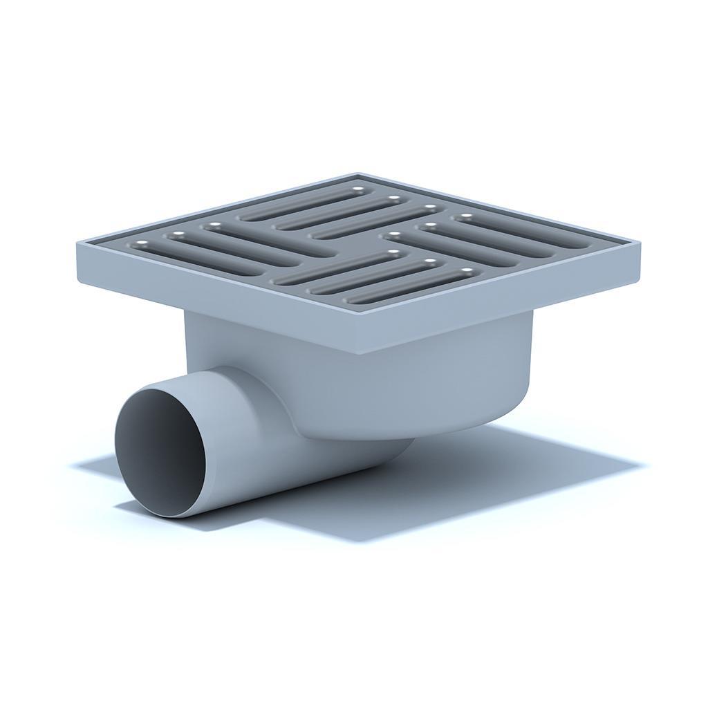Edelstahl Bodenablauf Duschablauf Bad Ablauf Abflussrinne Badablauf Duschrinne,Ani Plast,TQ5112EU, 4779037105137
