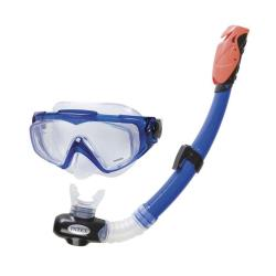 2x Schnorchel Set Tauch Set Aqua Sport Schnorchel Tauchbrille Tauchmaske Taucher
