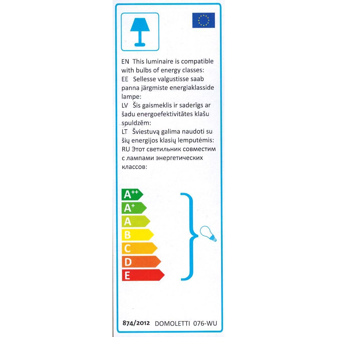 Außenleuchte Wandleuchte Wandlampe Flurlampe Badleuchte Beleuchtung Wohnraum ,Domoletti,076-WU, 4772013157366