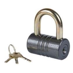 Vorhängeschloss 102/80mm Vorhangschloss Schloss mit 3 Schlüssel Sicherheit 9