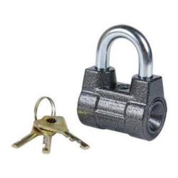 Vorhängeschloss 79/57mm Vorhangschloss Schloss mit 3 Schlüssel Sicherheit 3,Chaz,BC2-4, 4607095590278
