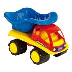 2x Sandspielzeug Auto 5 tlg. Baufahrzeug Sandkastenspielzeug Kinder LKW Kipper