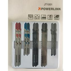 10 x T-Schaft Profi Stichsägeblätter für Holz Metall PVC Alu Kupfer,Powerlink,000050886802, 6941125210179