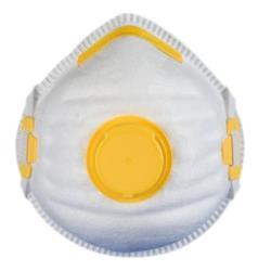 Feinstaubmaske mit Ventil FFP1 Staubmaske Atemschutz Atemschutzmaske
