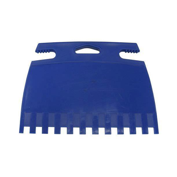 Zahnkelle Zahnspachtel Zahnkelle Aufstreich-Spachtel Kunststoff 180 x 125 mm ,Expert,109697, 4013307303435
