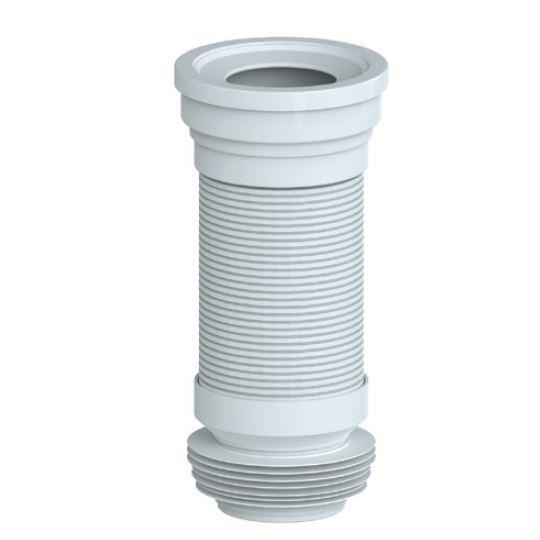 WC Anschlußstück gerade 350 mm Sanitär Anschlußstutzen WC Vorwand,chudSan,T 350 , 8595587421826