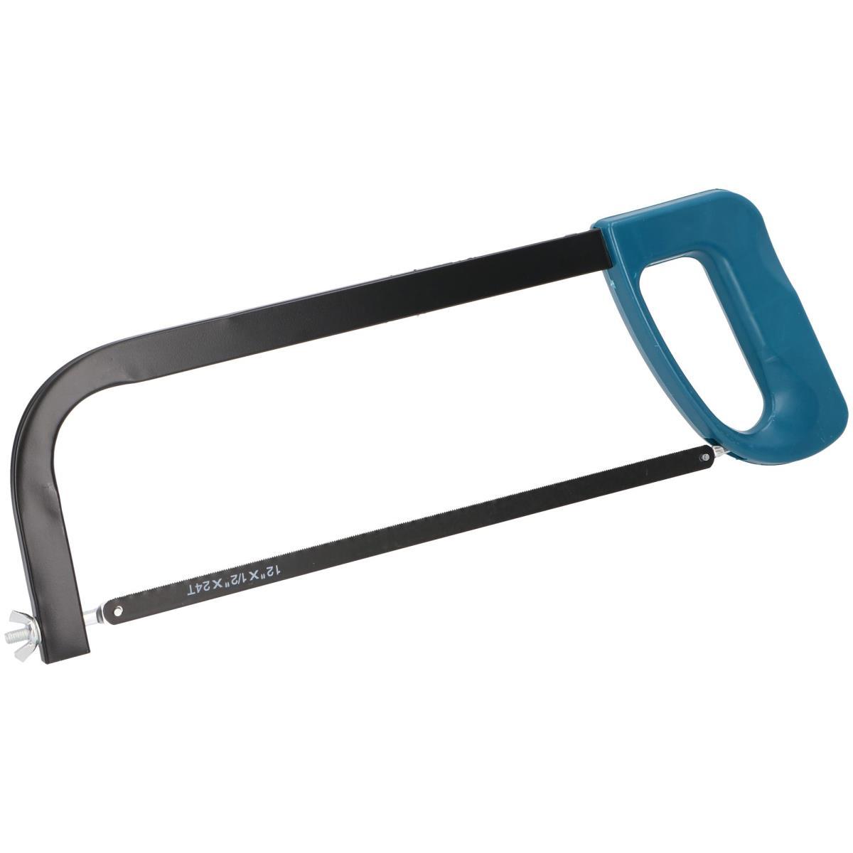Eisensäge inkl 300 mm Sägeblatt Bügelsäge mit Griff Metallsäge Handsäge