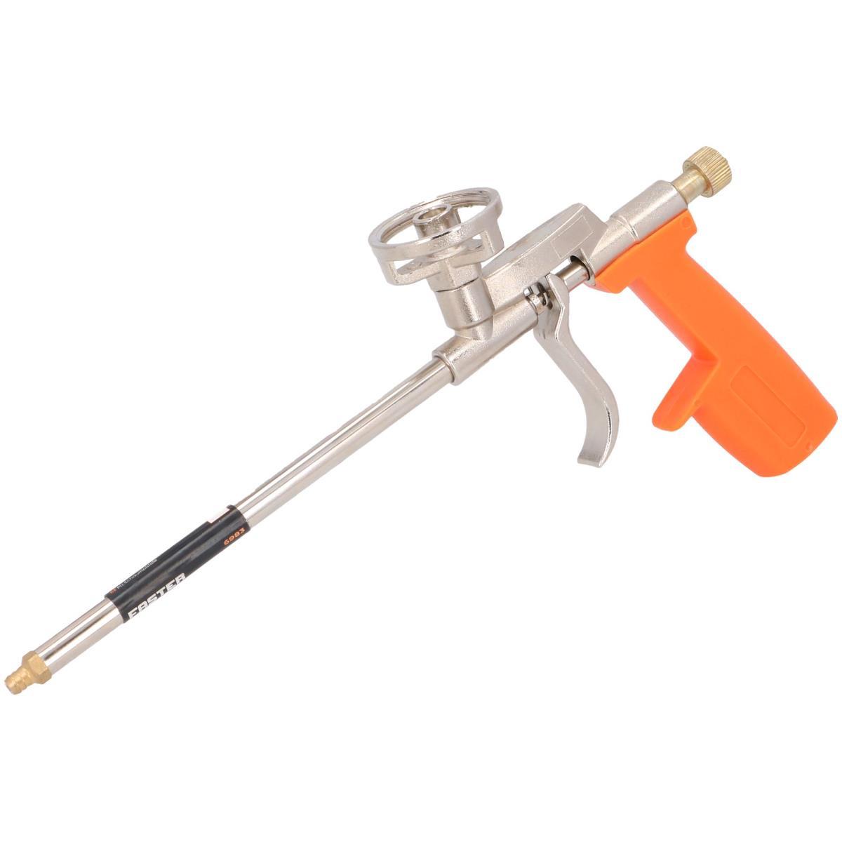 Schaumpistole Dosierpistole Metall PU Bauschaumpistole Pistole,fast,6983, 5907078969831