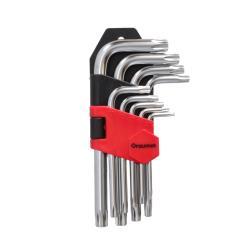 9 tlg Profi TORX Winkelschlüssel Satz  T10 - T50 Winkelschlüssel ,draumet,3720, 5907078937205