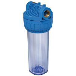 """Filtergehäuse für Wasserfilter 9"""" Untertischfilter mit Anschl 1/2"""" Pumpenfilter"""
