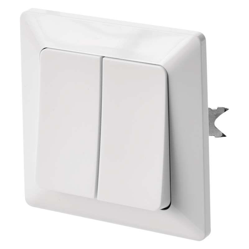 Serienschalter Unterputz Lichtschalter weiss 10A, 230V Schalter licht Serie EMOS,EMOS,A6100.1, 8592920074671