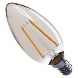 LED Lampe Kerze Filament 2W 170lm E14 warmweiss Leuchtmittel Lampen,EMOS,Z74300, 8592920035665