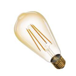 LED Lampe Kerze Filament 4W 380lm E27 warmweiss+ Leuchtmittel Lampen,EMOS,Z74302, 8592920035726