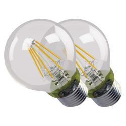2 LED Lampen Kerze Filament Lampe 6W 806lm E27 warmweiss Leuchtmittel