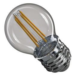 LED Lampe Kerze Filament 4W 465lm E27 warmweiss Leuchtmittel Mini Globe Lampen