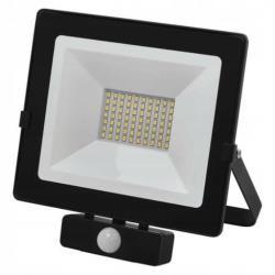50W LED Flutlicht Bewegungsmelder Fluter Strahler Sensor Außen Scheinwerfer IP54