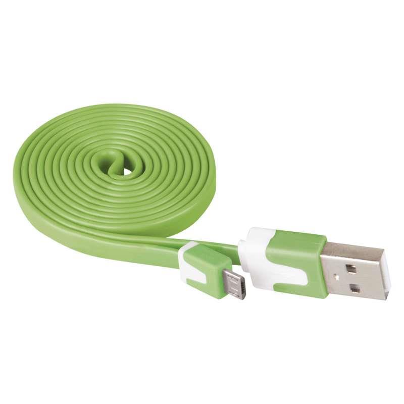 1m Micro USB 2.0 Ladekabel Mikro-Stecker Typ B Stecker A Daten Kabel Ladegerät,EMOS,SM7001G, 8592920005170