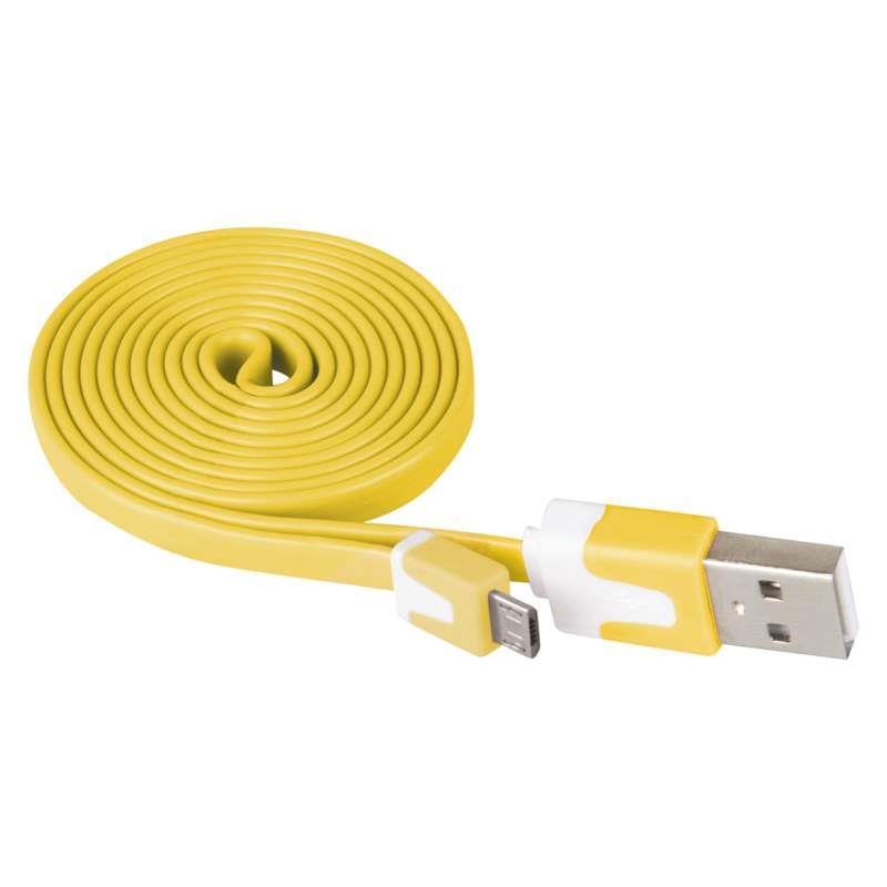 1m Micro USB 2.0 Ladekabel Mikro-Stecker Typ B Stecker A Daten Kabel Ladegerät,EMOS,SM7001Y, 8592920005194