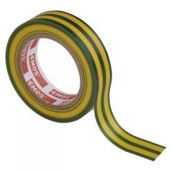 Rolle  Gelb/Grün Elektriker Klebeband PVC Isolierband Isoband - 15mm x 10m,EMOS,F61515, 8595025313256