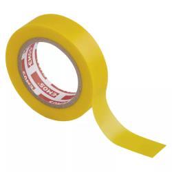 Rolle Gelb Elektriker Klebeband PVC Isolierband Isoband - 15mm x 10m,EMOS,F61516, 8595025318886