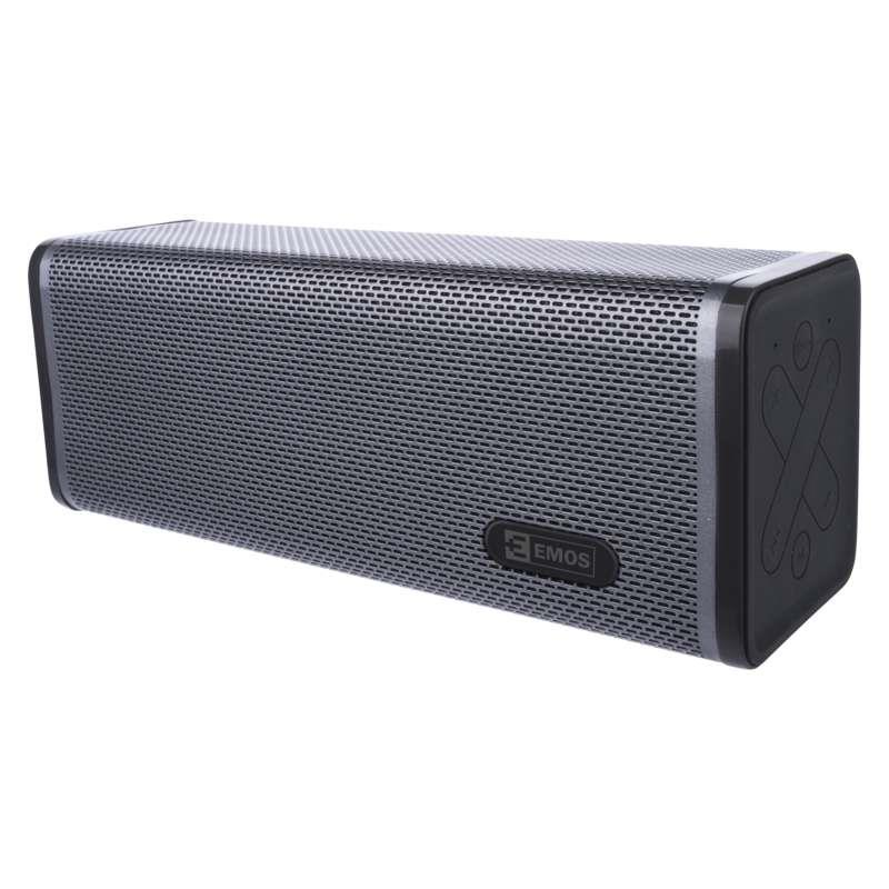 EMOS Bluetooth Lautsprecher Musikbox Soundbox mit Radio Tragbarer Musik box,EMOS,E0071, 8592920041024
