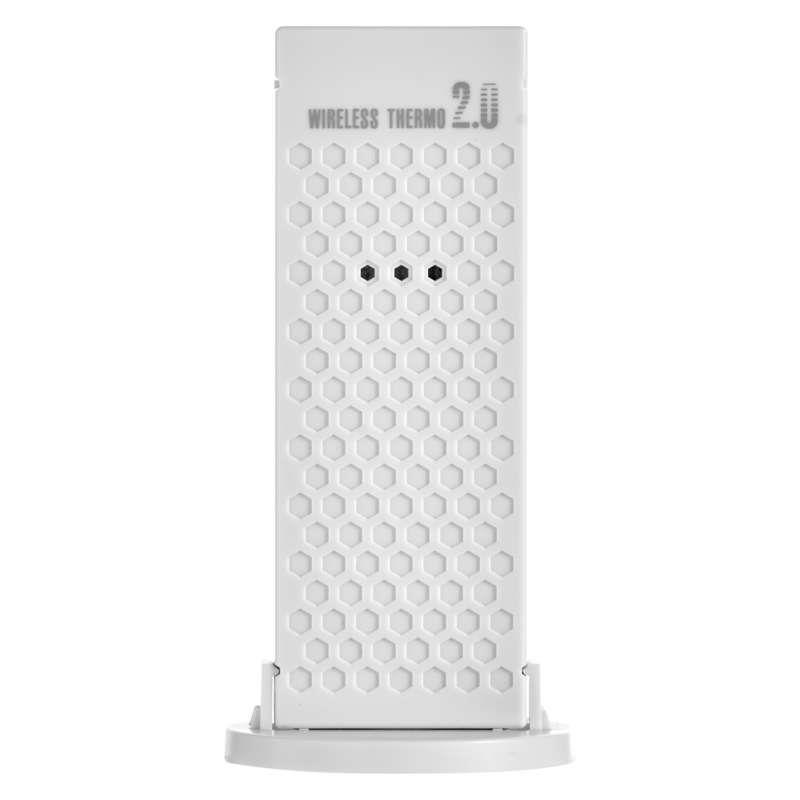 Funk Wetterstation Thermometer Funkuhr DCF Innen + Außen Sensor,EMOS,E0310, 8592920064955