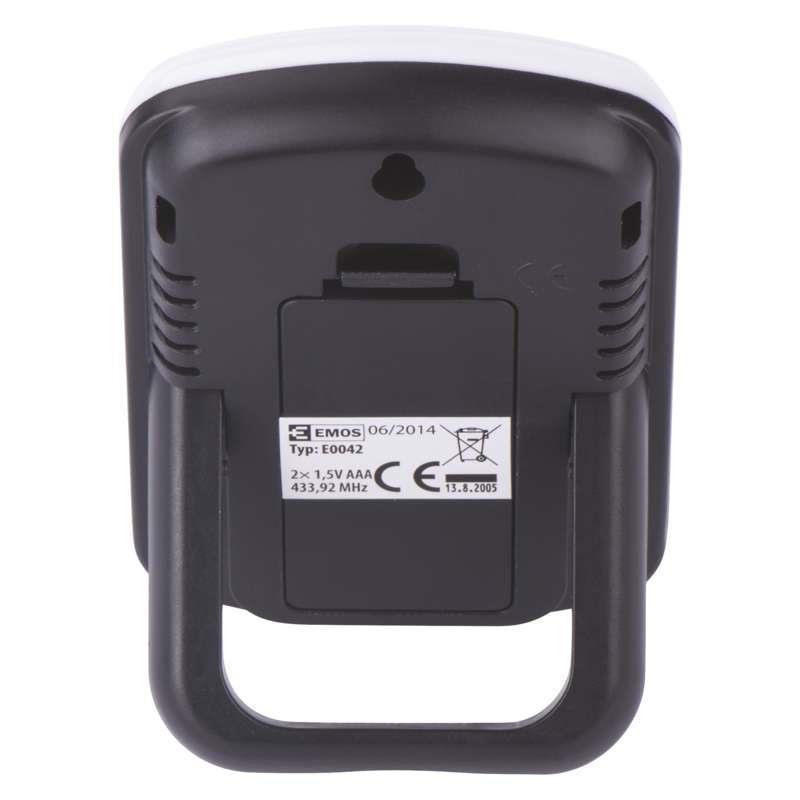 Digitales drathloses Thermometer mit Außen- und Innentemperaturanzeige,EMOS,E0042, 8592920010761