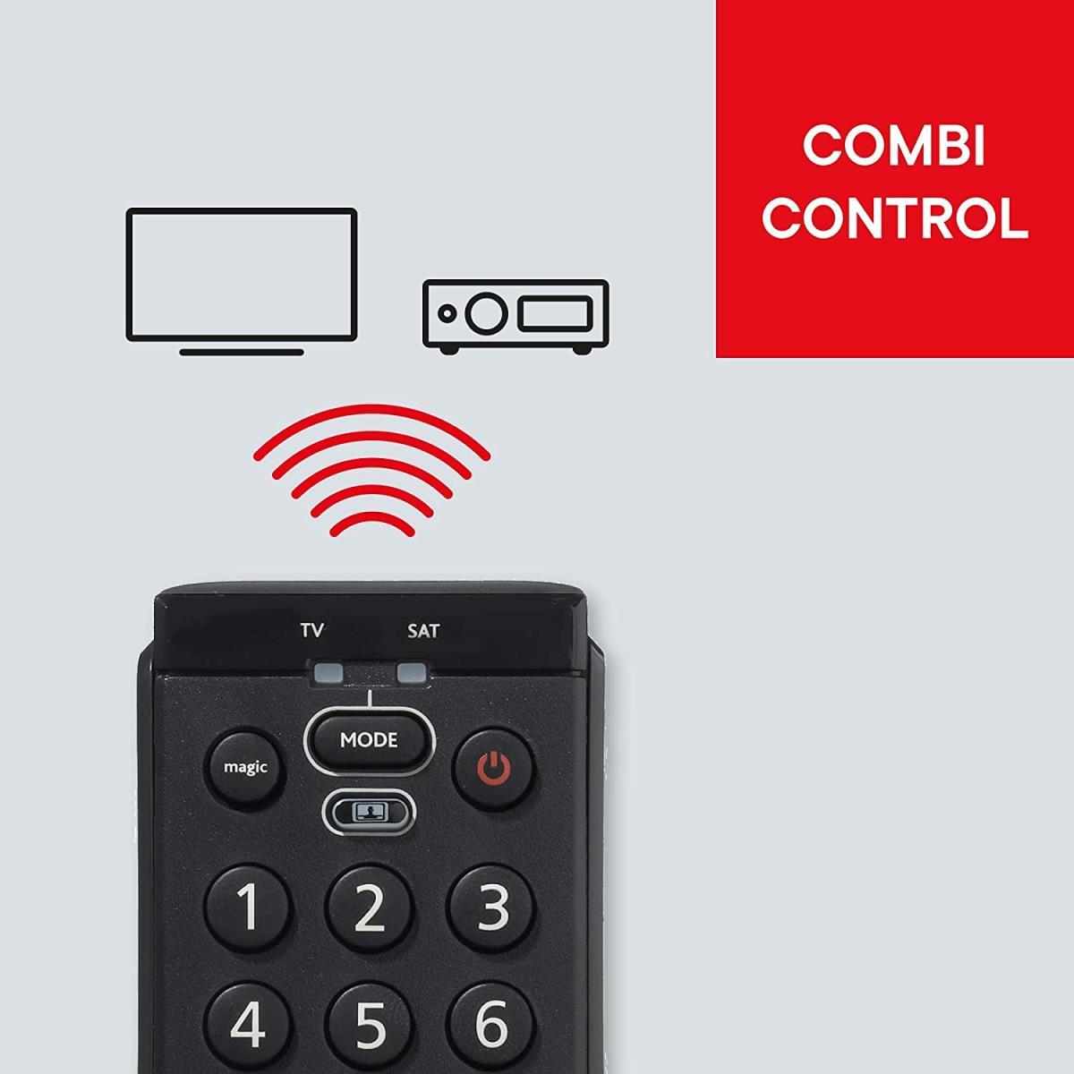 One For All Essence 2 Universal Fernbedienung TV - Steuerung von 2 Endgeräten,One For All,URC7120, 8716184043154