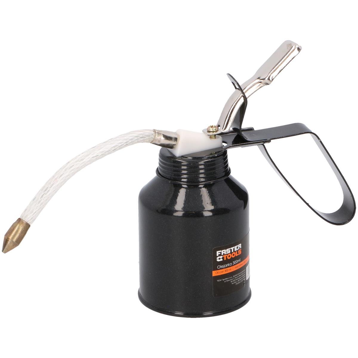 Ölkanne 300ml Ölspritzkanne Ölspritze Ölspritzkännchen mit flexiblem Schlauch,fast,1473, 5907078914732