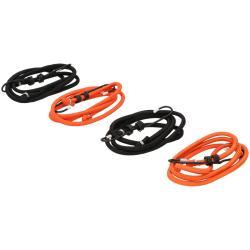 4 x Spanngummi 1,2 m mit Haken Spanngummis Gepäckspanner Spannseil Spanngurte