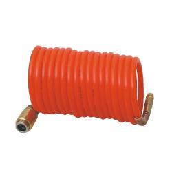 Druckluftschlauch 15 m Kompressorschlauch Spiralschlauch Schnell Kupplung