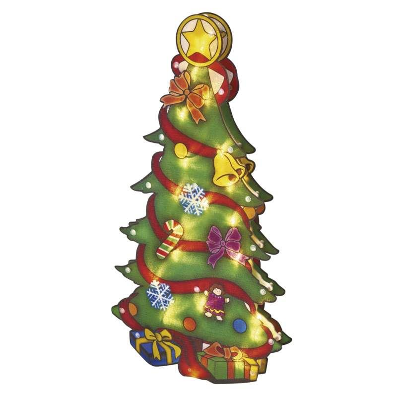 LED Tanne 45cm Baum Fensterdeko Innen Beleuchtung Weihnachtsbaum Weihnachtsdeko ,EMOS,ZY2125, 8592920061251