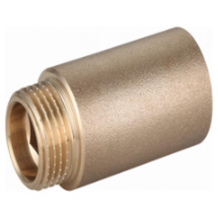 "Messing Fitting Gewindefitting, Verlängerung 1/2"" x 50mm,M T,87533015050, 8435319131428"