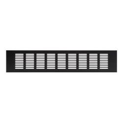 Aluminium dunkel Braun Lüftungsgitter 60 x 400 mm Sokkelgitter Heizungsgitter