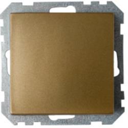 Lichtschalter Unterputz Ein/Aus  (Ohne Rahmen) 10A Premium serie STILE Bronze