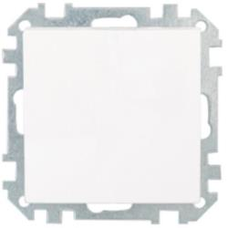 Lichtschalter Unterputz Ein/Aus  (Ohne Rahmen) 10A Premium serie STILE Weiß