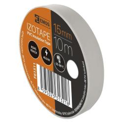 10 Rollen Weiß Elektriker Klebeband PVC Isolierband Isoband - 15mm x 10m